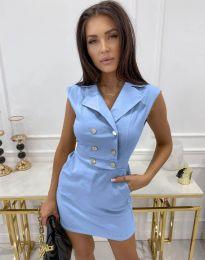 Φόρεμα - κώδ. 9265 - γαλάζιο