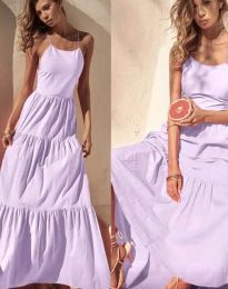 Φόρεμα - κώδ. 2991 - μωβ