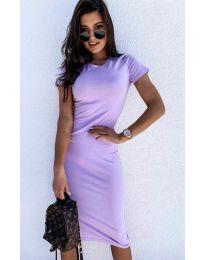 Φόρεμα - κώδ. 682 - ανοιχτό μωβ