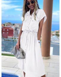 Φόρεμα - κώδ. 0014 - λευκό