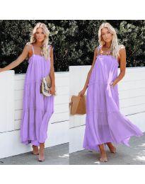 Φόρεμα - κώδ. 551 - μωβ