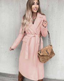 Παλτό - κώδ. 0876 - ροζ