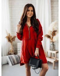 Φόρεμα - κώδ. 6113 - κόκκινο