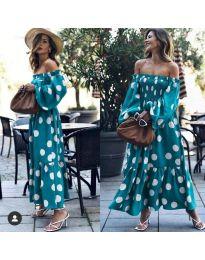 Φόρεμα - κώδ. 9951 - σκούρο μπλε