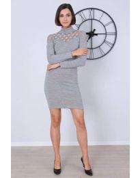 Φόρεμα - κώδ. 6099 - 1 - γκρι