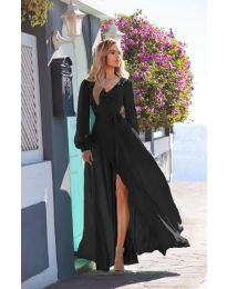 Φόρεμα - κώδ. 8477 - μαύρο
