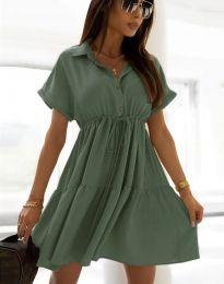 Φόρεμα - κώδ. 6292 - λαδί