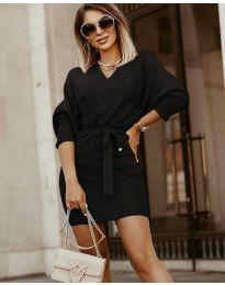 Φόρεμα - κώδ. 9876 - μαύρο