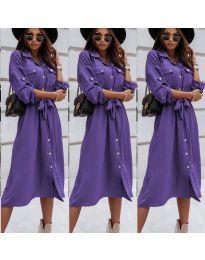 Φόρεμα - κώδ. 1510 - μωβ