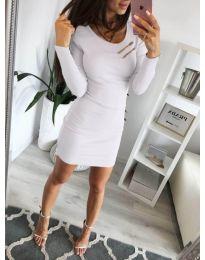 Φόρεμα - κώδ. 3298 - λευκό