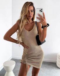 Φόρεμα - κώδ. 2034 - μπεζ