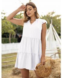 Φόρεμα - κώδ. 696 - λευκό