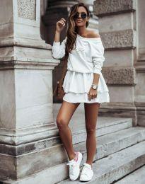 Φόρεμα - κώδ. 12051 - λευκό