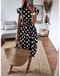 Φόρεμα - κώδ. 1415 - μαύρο
