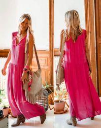 Φόρεμα - κώδ. 2568 - 1 - φουξια