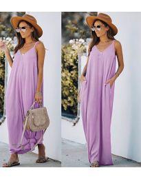 Φόρεμα - κώδ. 0209 - ανοιχτό μωβ