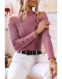 Μπλούζα - κώδ. 2771 - 4 - ροζ