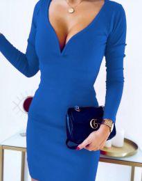 Φόρεμα - κώδ. 12065 - 5 - μπλε