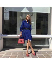 Φόρεμα - κώδ. 960 - σκούρο μπλε