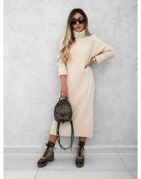 Φόρεμα - κώδ. 0590 - μπεζ