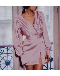 Φόρεμα - κώδ. 492 - ροζ