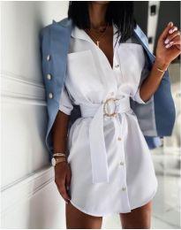 Φόρεμα - κώδ. 976 - λευκό