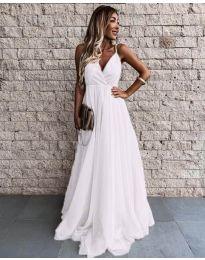 Φόρεμα - κώδ. 5244 - λευκό