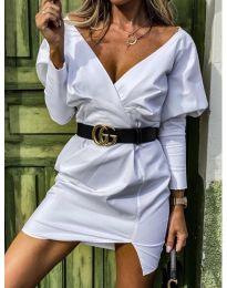 Φόρεμα - κώδ. 1617 - λευκό