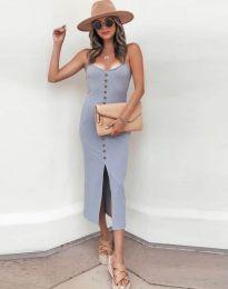 Φόρεμα - κώδ. 8841 - γκρι