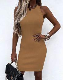 Φόρεμα - κώδ. 6331 - καπουτσίνο