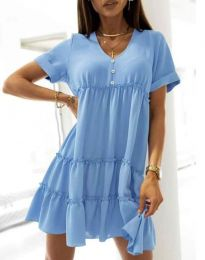 Φόρεμα - κώδ. 7205 - γαλάζιο