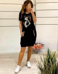Φόρεμα - κώδ. 7812 - μαύρο