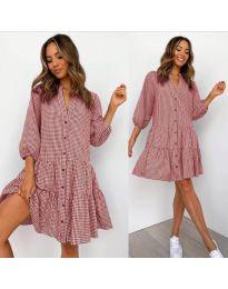 Φόρεμα - κώδ. 965 - κόκκινο