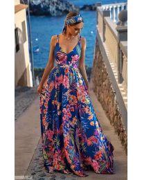 Φόρεμα - κώδ. 0404 - πολύχρωμο
