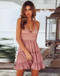 Φόρεμα - κώδ. 7115 - 3 - πούδρα