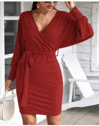Φόρεμα - κώδ. 1197 - μπορντό