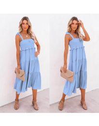 Φόρεμα - κώδ. 7791 - γαλάζιο