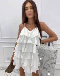 Φόρεμα - κώδ. 8190 - λευκό