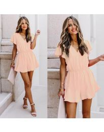 Φόρεμα - κώδ. 674 - ροζ