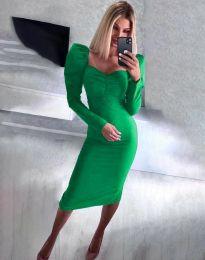 Φόρεμα - κώδ. 3865 - πράσινο