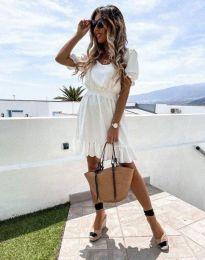 Φόρεμα - κώδ. 6460 - λευκό