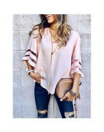 Μπλούζα - κώδ. 3371 - 2 - ροζ