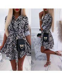 Φόρεμα - κώδ. 841 - 2 - πολύχρωμο