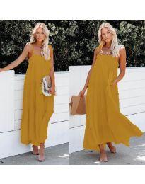 Φόρεμα - κώδ. 551 - μουσταρδί