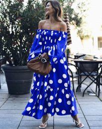 Φόρεμα - κώδ. 9951 - μπλε