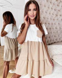Φόρεμα - κώδ. 2506 - μπεζ