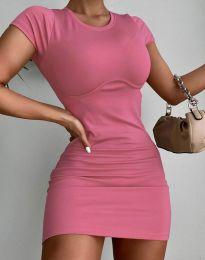 Φόρεμα - κώδ. 12833 - ροζ