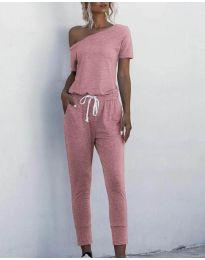 Ολόσωμη φόρμα - κώδ. 510 - ροζ