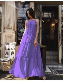 Φόρεμα - κώδ. 1105 - μωβ
