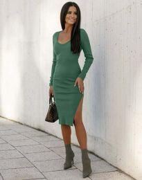 Φόρεμα - κώδ. 12106 - πράσινο